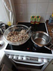 Granola Mixing